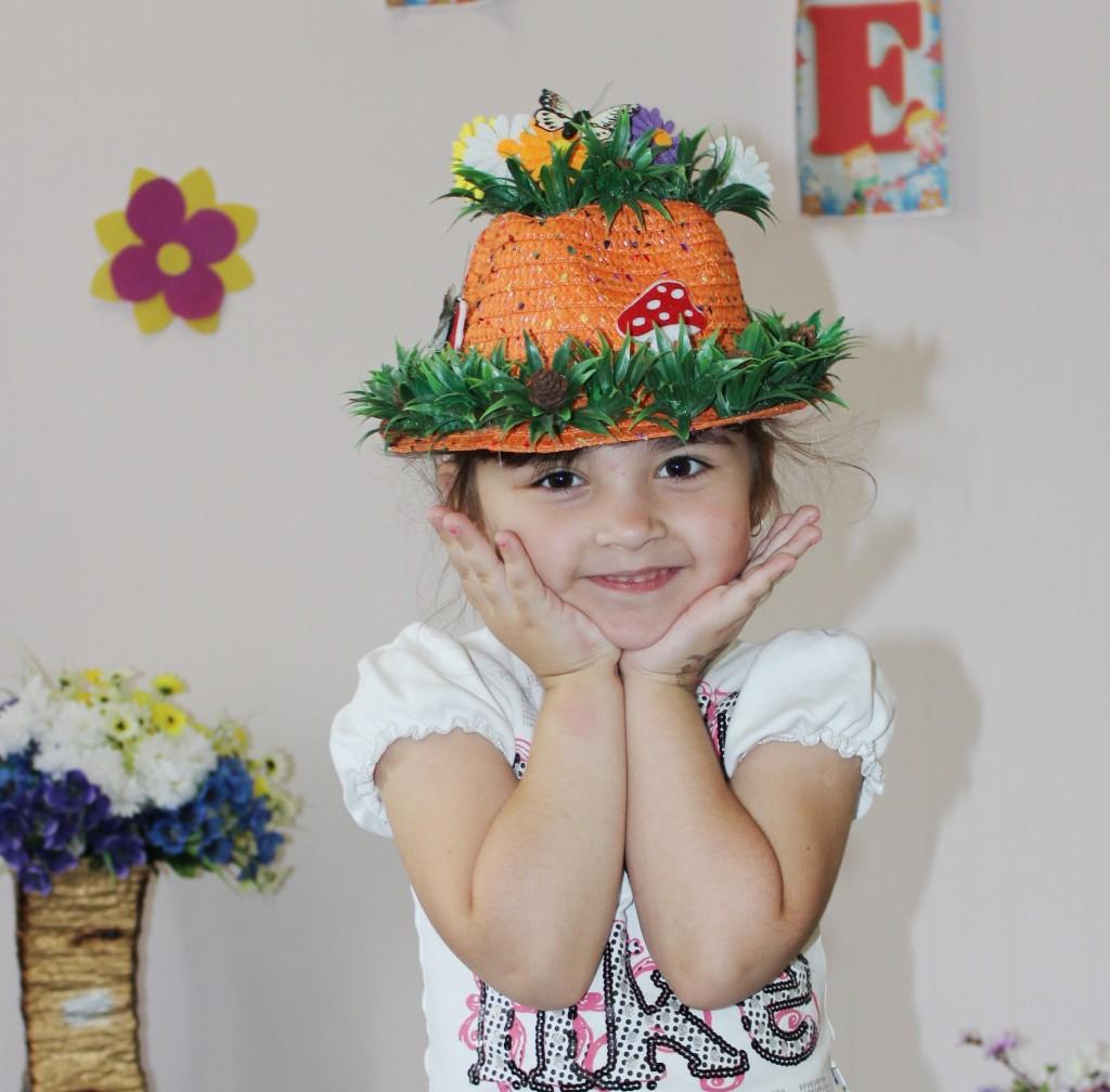 Оригинальные шляпы своими руками для детей на конкурс шляпа 789