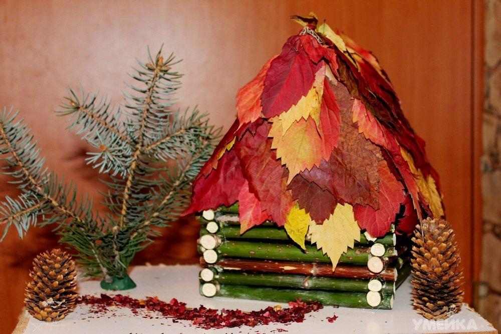 Поделки из природного материала своими руками из листьев фото